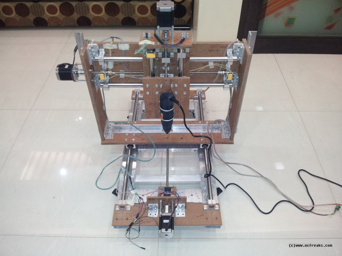 DIY CNC Router / Mill Project - PCB engraving Test - India ...