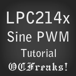 Sine Wave Generator using PWM with LPC2148 Microcontroller Tutorial