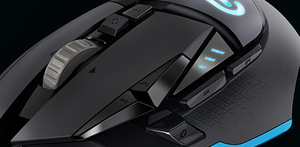 Logitech announces G502 gaming mouse with 12,000 DPI sensor