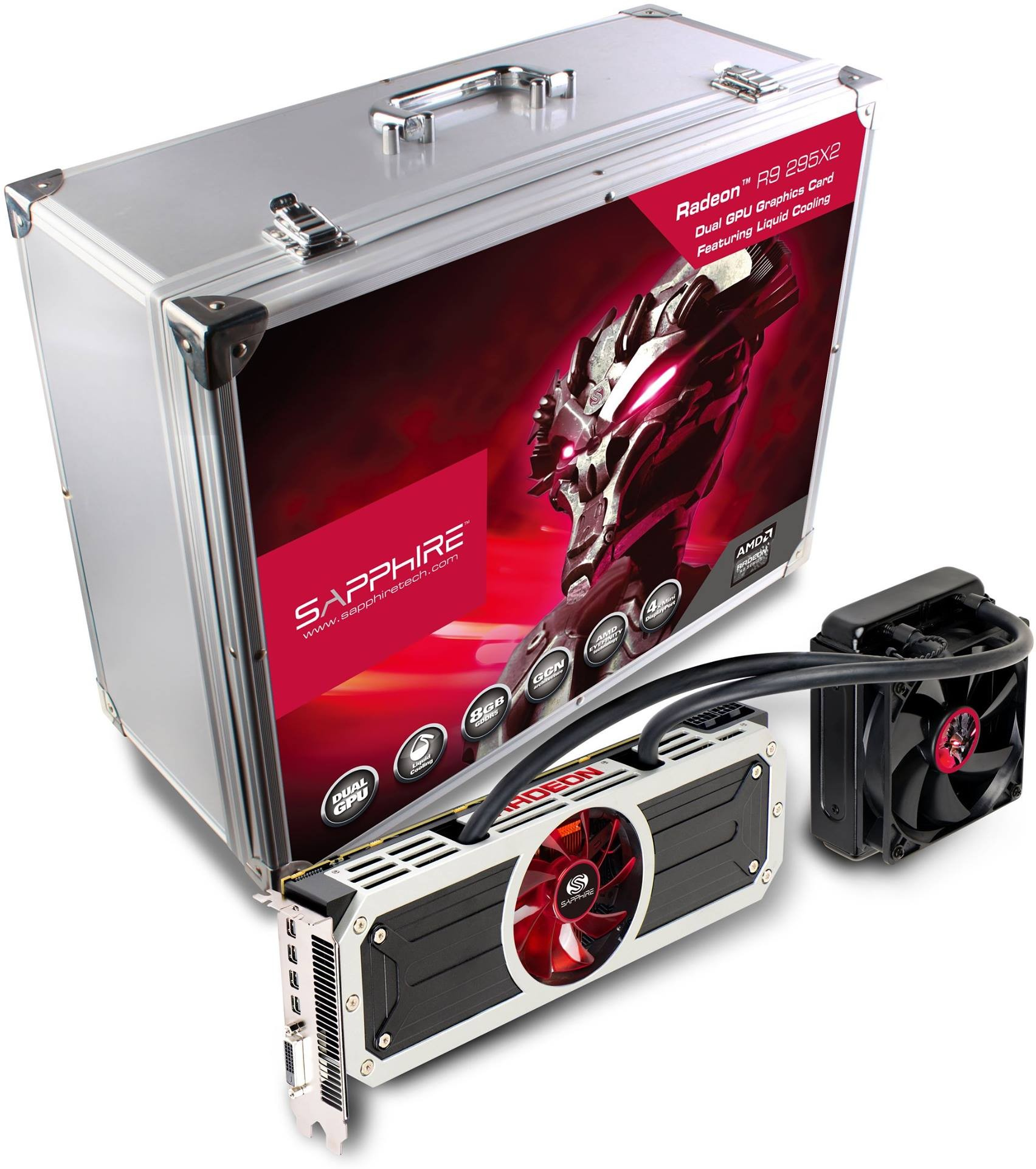 Sapphire Radeon R9 295X2 Ships in Signature Suitcase