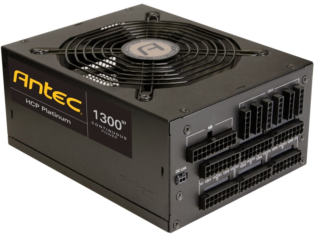 Antec Announces the Availability of HCP-1300 Platinum PSU for High End Gamers in India.