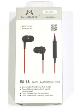 SoundMagic ES18S Earphone Review