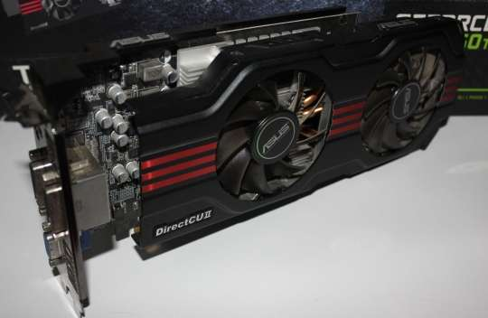 Asus GTX650Ti DirectCU II TOP Review