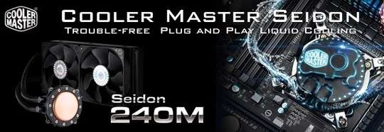 Cooler Master Seidon 240M CPU Cooler Review